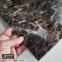 Amostra 20cm x 30cm - Mármore emperador gold PG803 revestimento PVC adesivo