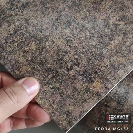 (Amostra 20cm x 30cm) Pedra MG463 - Adesivo Decorativo