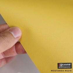(Amostra 20cm x 30cm) Mostarda fórmica RS218 adesivo Decorativo